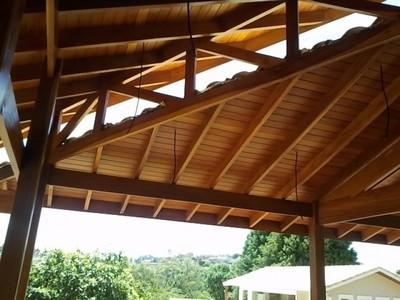 Construções de Estrutura em Madeira Bela Vista - Construção de Pergolado em Madeira