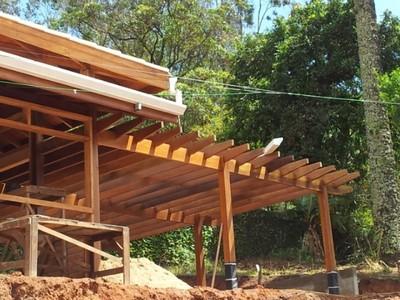 Construções de Pergolado em Madeira Vila Sônia - Construção de Estrutura em Madeira