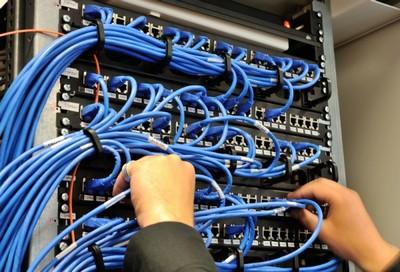 Instalação de Rede de Informática Cidade Jardim - Instalação Predial
