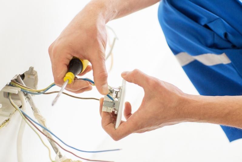 Instalação Elétrica Cidade Jardim - Instalação de Sistema de Cameras