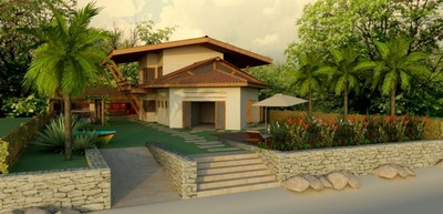 Onde Encontro Projeto para Residência na Praia Conceição - Projeto de Arquitetura para Interiores
