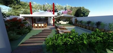 Onde Encontro Projeto Planejado para Residencia Alphaville - Projeto para Residência na Praia