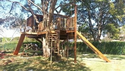 Projeto de Casa na Árvore Tremembé - Projeto de Área de Lazer