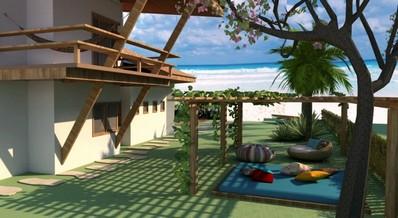 Projeto para Casa na Praia Moema - Projeto para Casa em Condomínio