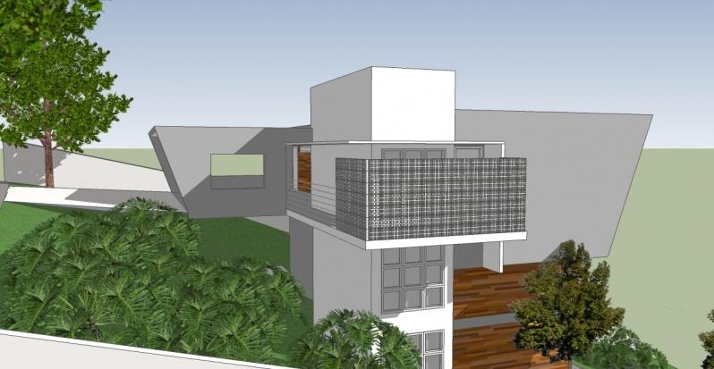 Projeto para Residência Moderna Valor Jardim América - Projeto para Residência na Praia