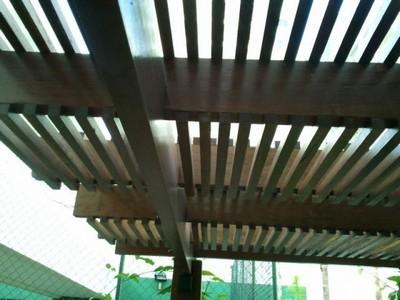 Serviço de Construção de Estrutura em Madeira Bom Retiro - Construção de Pergolado em Madeira