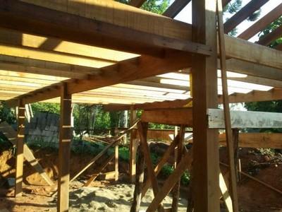 Serviço de Construção de Pergolado em Madeira Tatuapé - Construção de Estrutura em Madeira