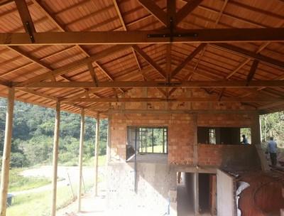 Serviço de Construção de Telhados Mairiporã - Construção de Estrutura em Madeira