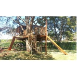 Construção de Casa na Árvore Água Branca