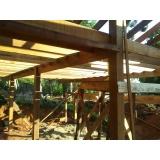 Construção de Pergolado em Madeira
