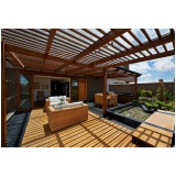 Construção de Deck em Madeira preço Brás