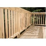 Construção de Deck em Madeira Parque do Carmo