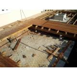 Construção de Estrutura em Madeira preço Vila Buarque