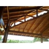 Construção de Pergolado em Madeira preço Embu das Artes
