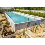 Construção de Piscina preço Raposo Tavares