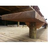 Construções de Deck em Madeira República