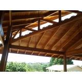 Construções de Estrutura em Madeira Brooklin