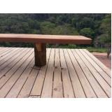 empresa para Construção de Deck em Madeira Taboão da Serra