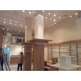 instalação elétrica para construção civil preço Luz
