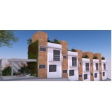 onde encontro projetos residenciais condomínios fechados Sé