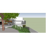 projeto para residência moderna preço Santa Efigênia