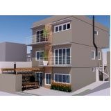 projeto planejado para residencia em condomínio preço Liberdade