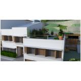 projetos residenciais contemporâneos valor Chácara Santo Antônio