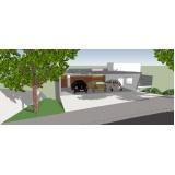 quanto custa projeto para residência moderna Centro