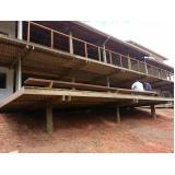 serviço de Construção em Madeira Higienópolis