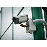 instalação de sistema de cameras